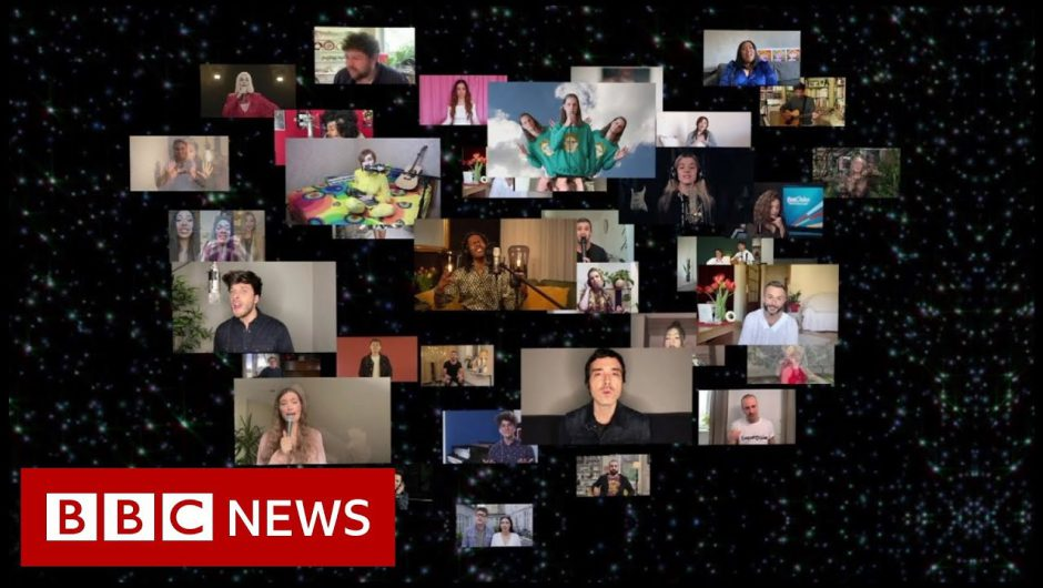 Highlights from Eurovision 2020 celebration show – BBC News