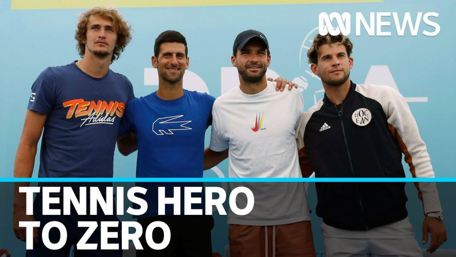Djokovic's tournament turns into a coronavirus mess, and the tennis world isn't happy   ABC News