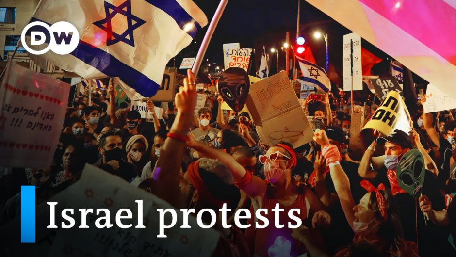 Protesters in Israel demand PM Netanyahu resign   DW News