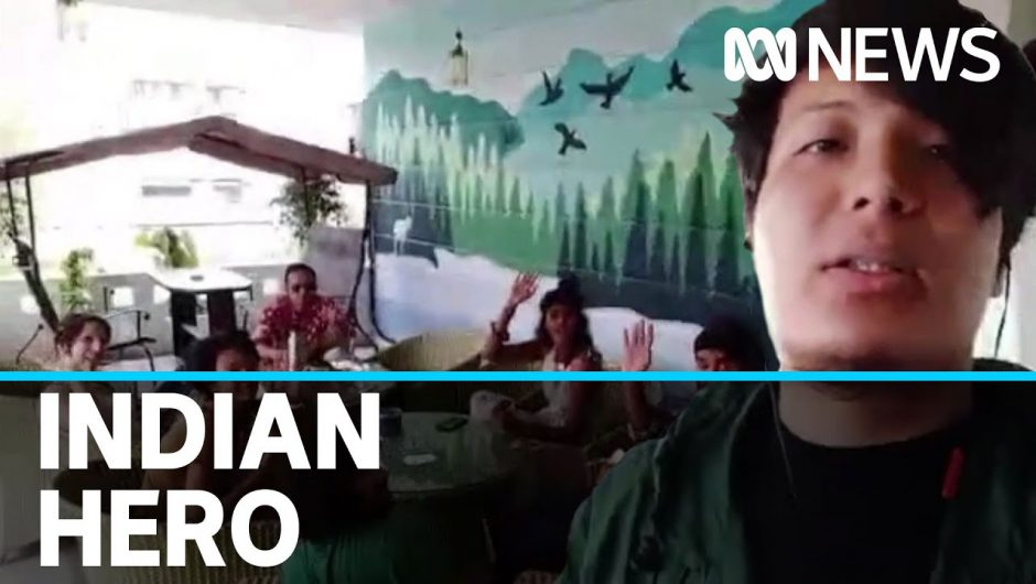 The Indian man helping foreigners get to safety during the country's COVID-19 lockdown | ABC News
