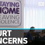 Domestic violence victims fear COVID-19 court changes will leave them in danger | ABC News