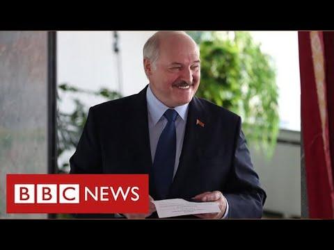 "Violent protests in Belarus as President Lukashenko claims ""landslide"" election victory – BBC News"
