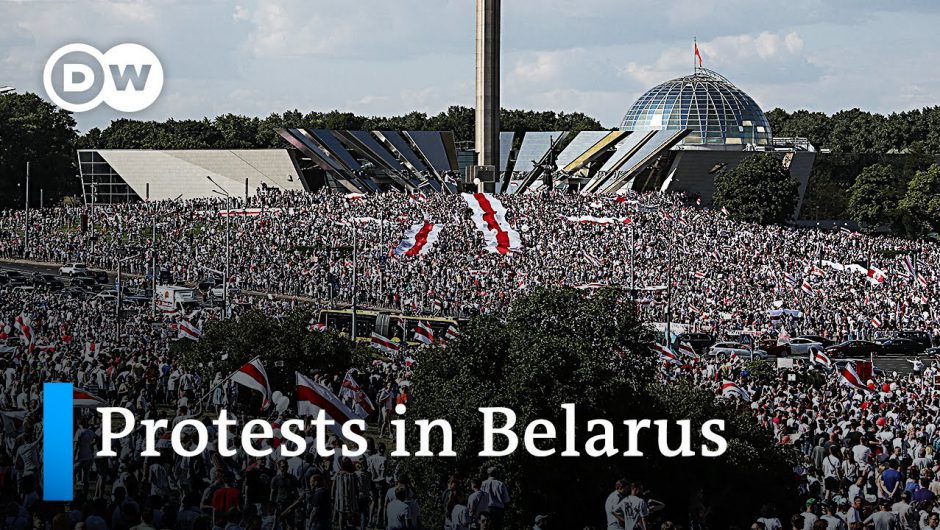 Belarus: Lukashenko seeks help from Russia, blames foreign interference | DW News