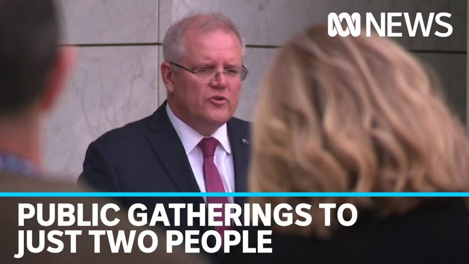 COVID-19 National cabinet to restrict public gatherings to just two people | ABC News