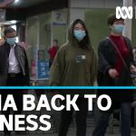 Coronavirus lockdown in China's Hubei province eases | ABC News