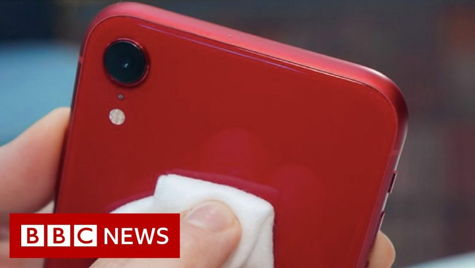 How to clean your smartphone safely – BBC News