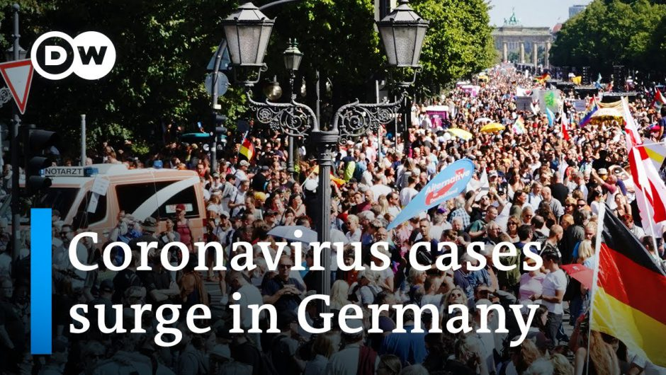 Berlin police shut down protest against coronavirus restrictions | DW News