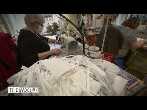 Fashion brands join coronavirus fight  | ABC News