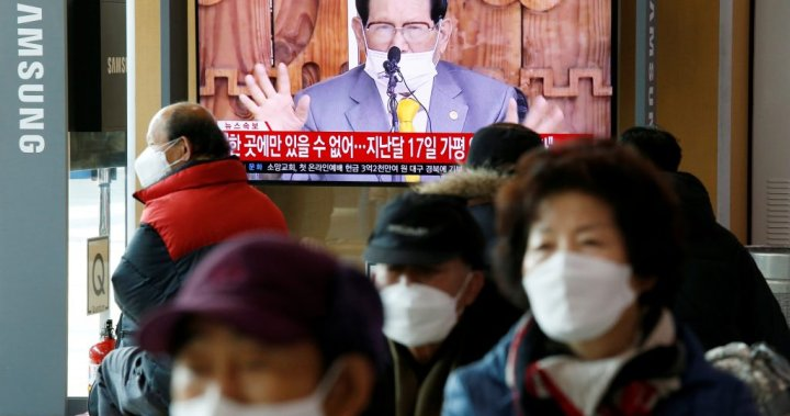 South Korea arrests head of religious sect linked to 36% of country's coronavirus cases – National