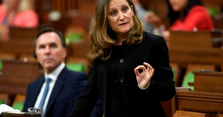Global credit rating agency issues new warning over Canada's coronavirus spending, debt – National