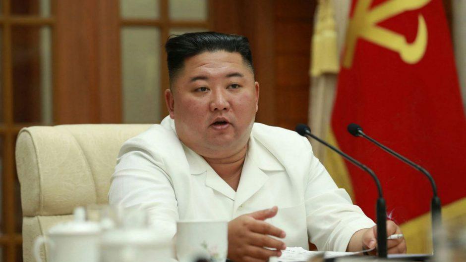 Kim Jong-un raises alarm over North Korea's coronavirus response as typhoon nears