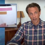 Seth Meyers Brutally Mocks Trump's Kindergarten Coronavirus Death Chart From Axios Interview