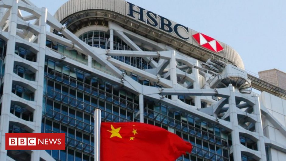 HSBC's profits slump 65% amid coronavirus downturn