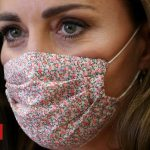 Coronavirus: Kate wears a mask for first time on charity visit