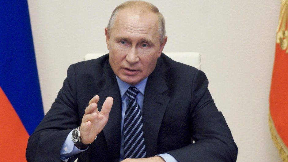 Putin claims Russia has developed a coronavirus vaccine