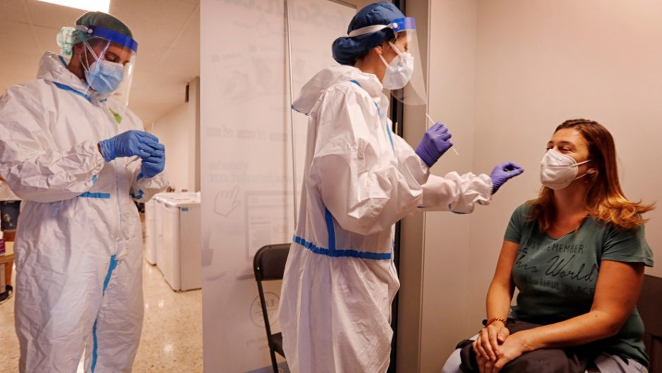 Spain reports over 3,500 coronavirus cases in a day: Live news | News