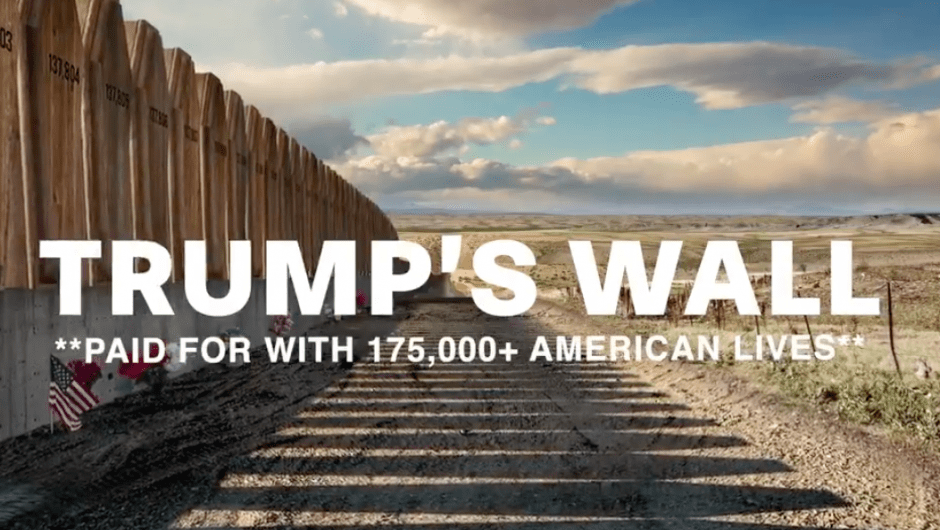 Lincoln Project ad shows 175,000 coffins for coronavirus victims as 'Trump's Wall'