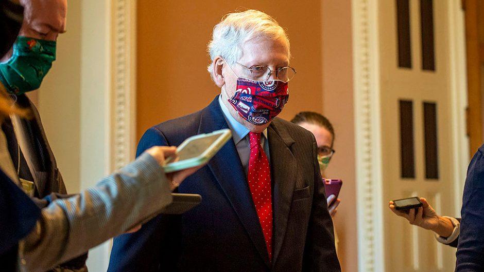 McConnell: 15-20 GOP senators will not vote for any coronavirus deal