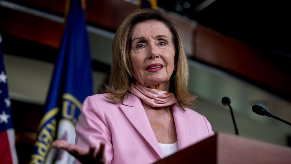 Speaker Pelosi blames Trump, GOP for deadlock in coronavirus relief negotiations