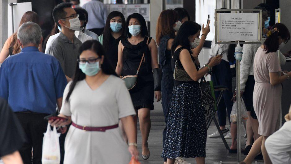 Singapore minister on coronavirus pandemic effect on white-collar jobs