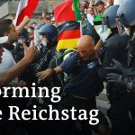 Far-right protesters try to enter German Parliament | DW News