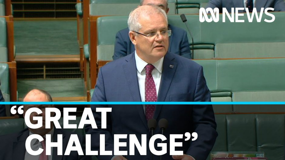 "PM says Australians are ""up to the challenge"" as nation faces coronavirus changes 