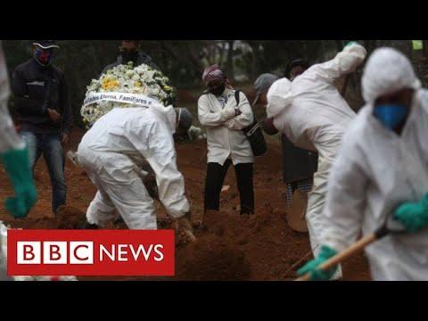 Brazil struggles with coronavirus crisis as President tests positive for disease – BBC News