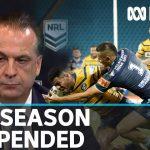 NRL 2020 season suspended amid coronavirus outbreak   ABC News