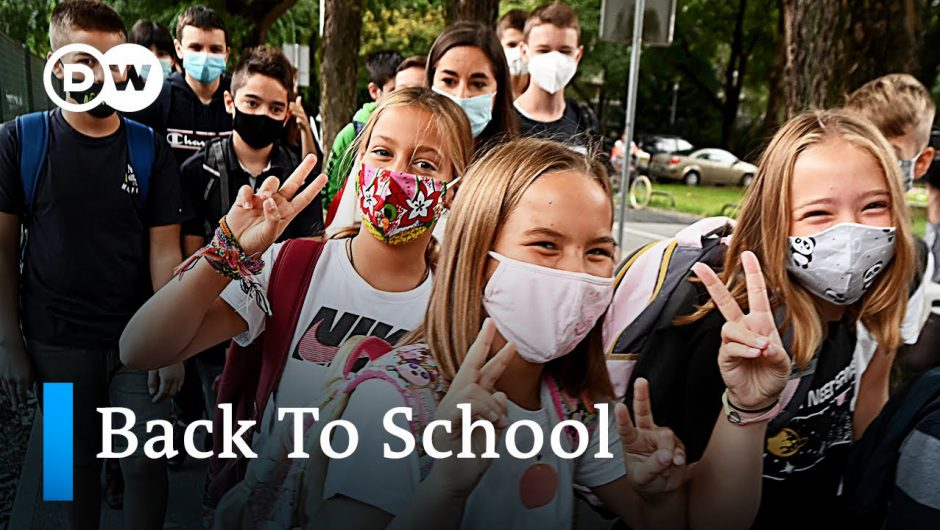 Correspondents report: School reopenings around the world | DW News