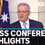 Highlights from the PM's Wednesday coronavirus press conference | ABC News