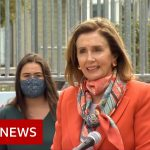Nancy Pelosi seen without mask inside San Francisco hair salon – BBC News
