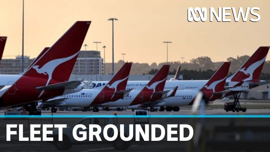 Qantas and Jetstar slash 90% of international flights due to coronavirus | ABC News