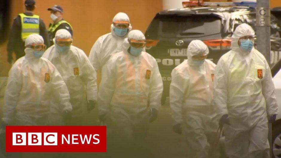 Coronavirus: Melbourne tower block lockdown 'like being in prison' – BBC News