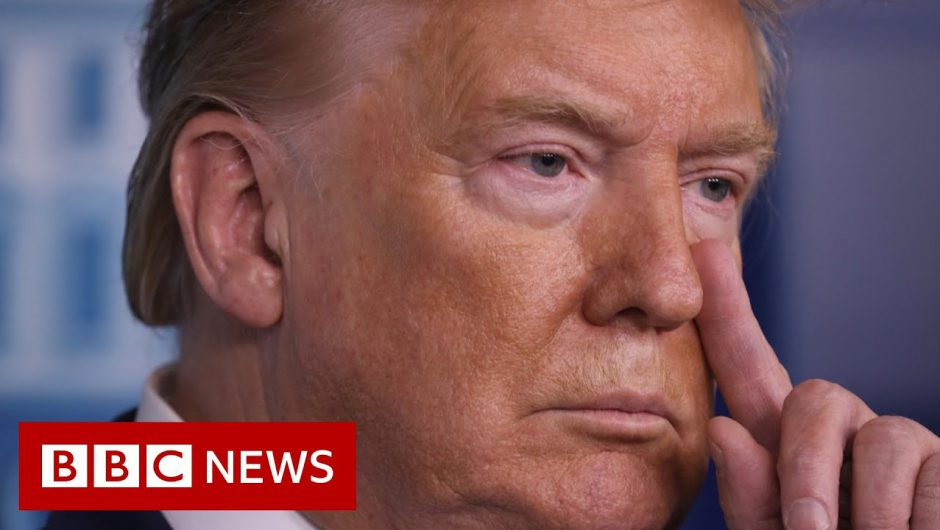 Coronavirus: Trump tells Americans to avoid public spaces – BBC News