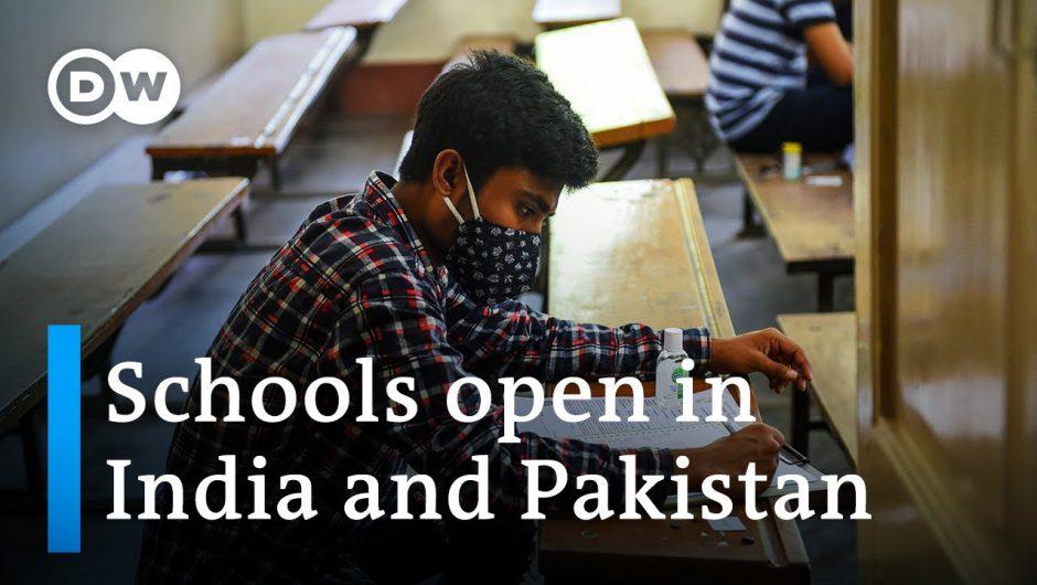 Schools open in India as coronavirus cases top 5 million | DW News