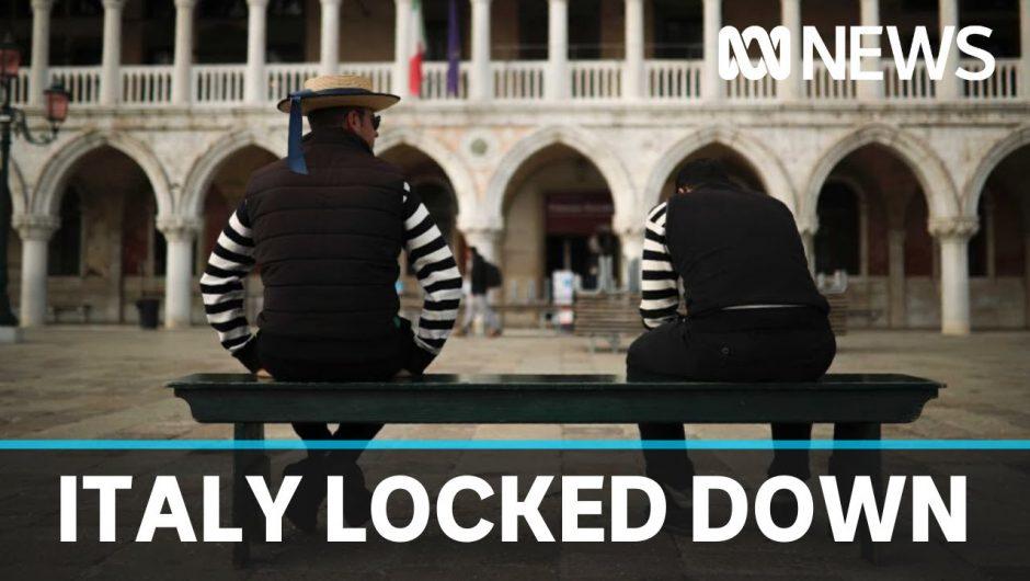 Italy in national lockdown as coronavirus spreads | ABC News