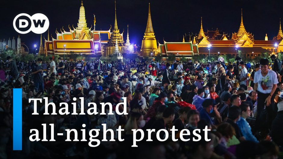 Thailand: Anti-government protest in Bangkok draws massive crowd | DW News