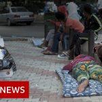 Ethiopian maids dumped outside Beirut embassy – BBC News