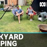 Coronavirus self-isolation sees spike in backyard campouts to keep communities connected | ABC News