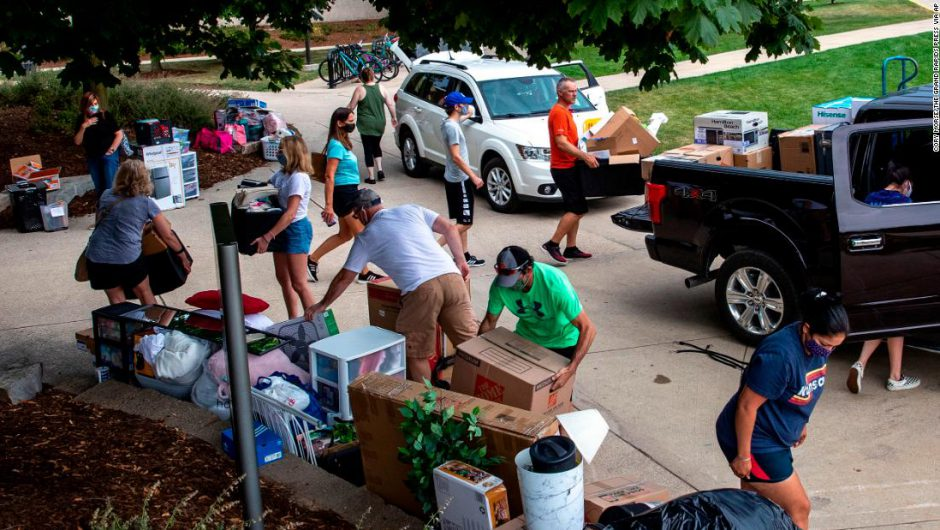 US Coronavirus: Some college students face stay-at-home orders as local leaders try to control Covid-19 spread