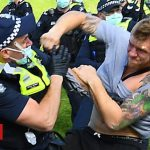 Coronavirus: Arrests at Australia anti-lockdown protests
