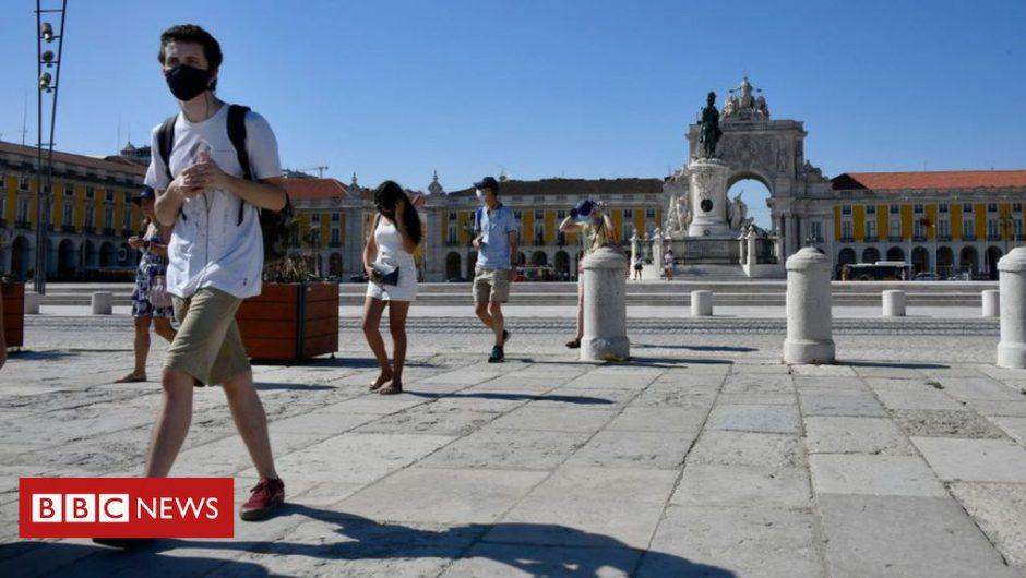 Coronavirus: Portugal back on England's quarantine list