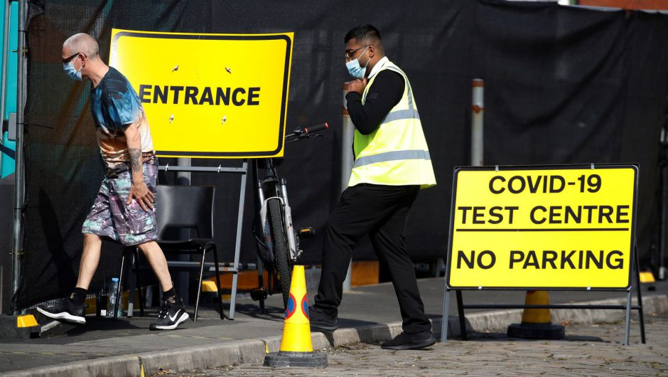 Coronavirus: Weekly infections almost double in England, official estimates show   UK News