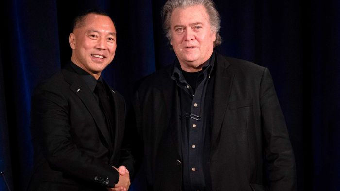 Anti-Beijing group with links to Steve Bannon spreading COVID-19 misinformation in Australia