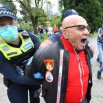Police arrest demonstrators at Melbourne protest against Victoria's coronavirus lockdown restrictions