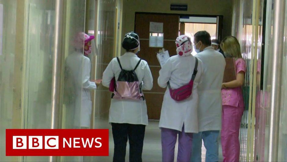 Venezuela: 'Forced to work' as medics fighting Covid – BBC News
