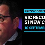 Victoria records 51 new COVID-19 cases and seven deaths as Melbourne curfew debate flares | ABC News