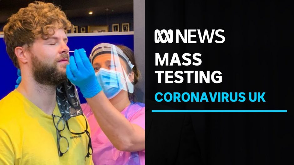 Mass testing is the UK's audacious plan out of coronavirus, according to Boris Johnson | ABC News
