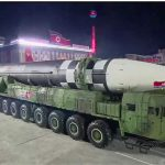 North Korea displays huge new intercontinental ballistic missile at coronavirus-defying parade