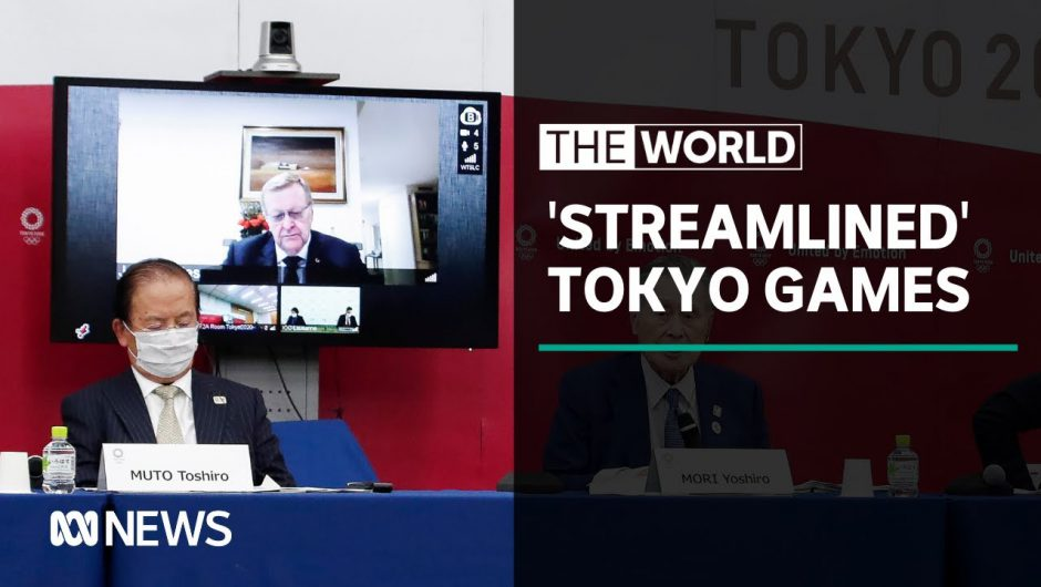 """Tokyo details plans for a """"streamlined"""" Olympics due to COVID-19 pandemic 